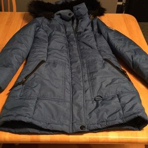 Hawke & Co Outfitters hooded winter parka